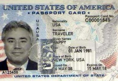 Application Forms For A Us Passport