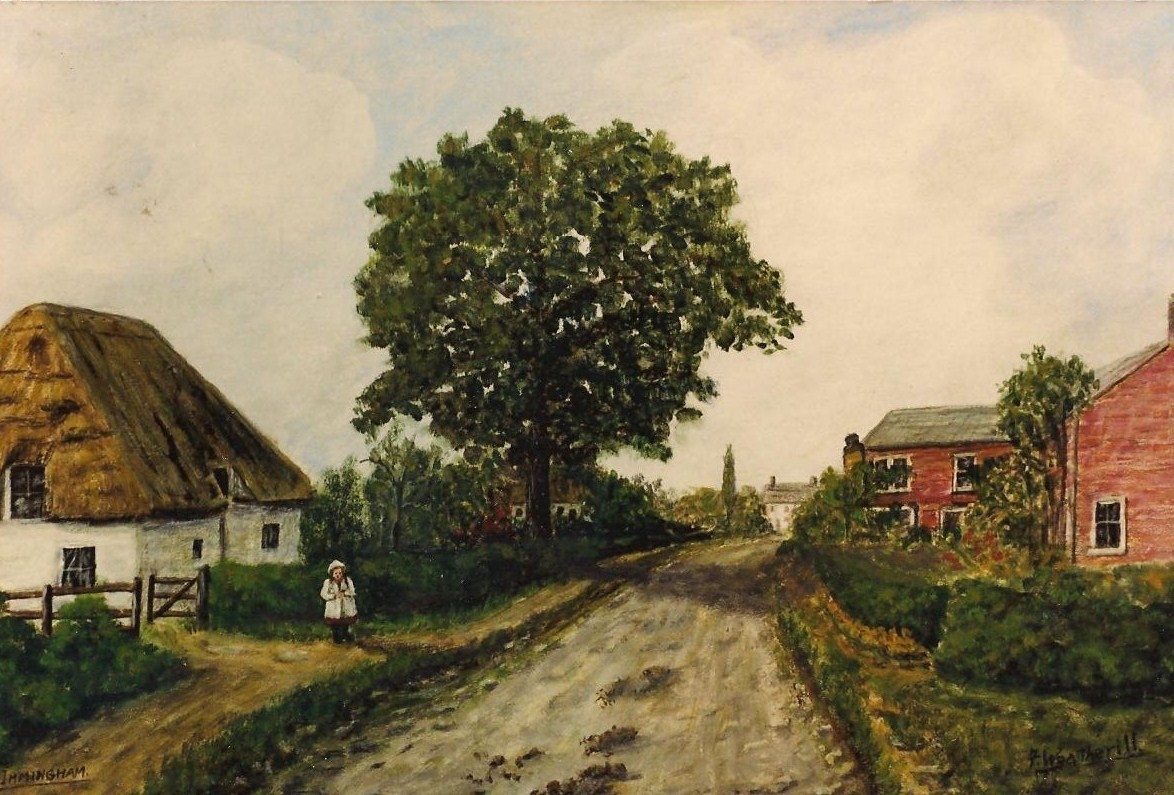 Church Lane Painting