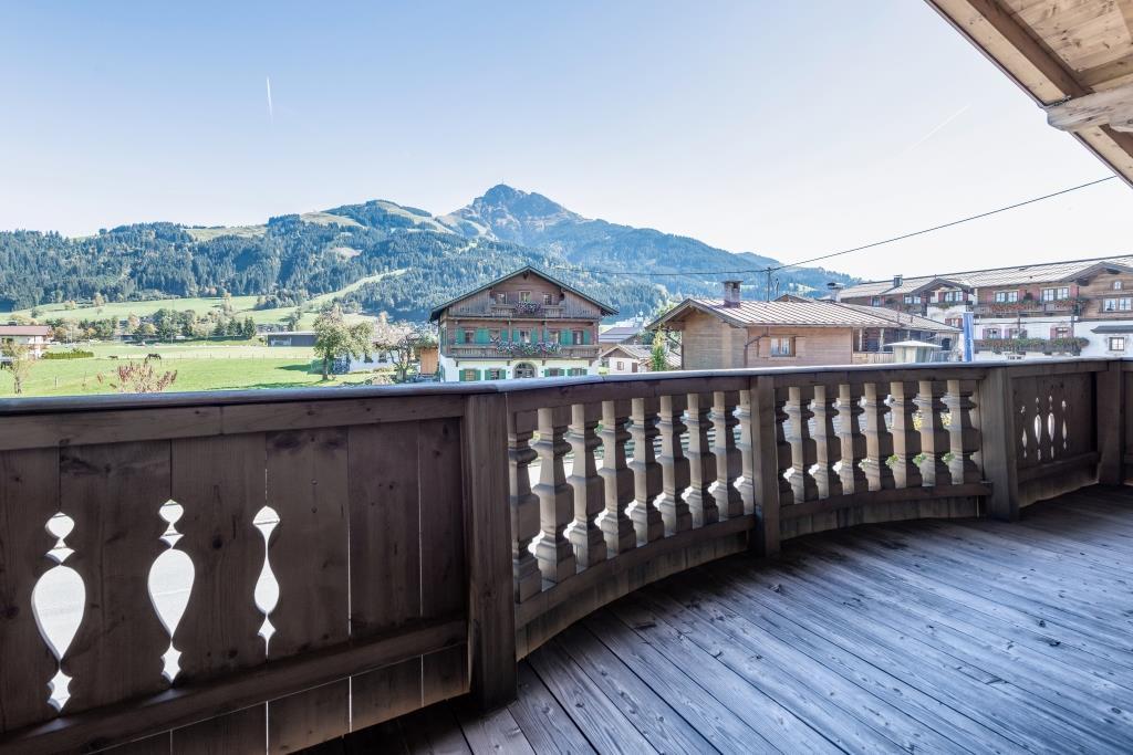 Whg. 2 Balkon Kitzbüheler Horn