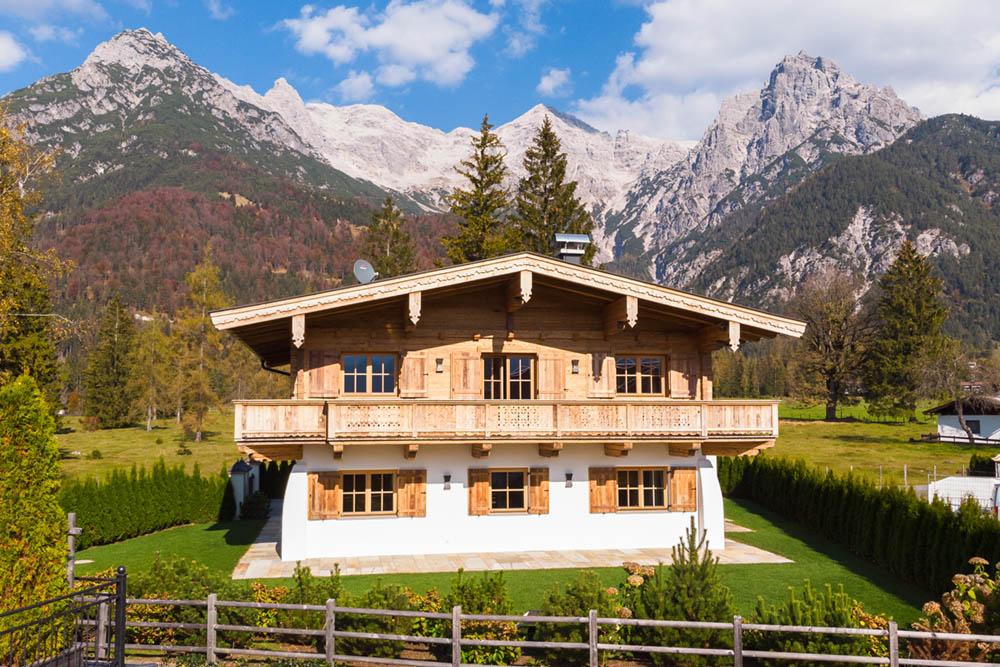 Häuser in Kitzbühel
