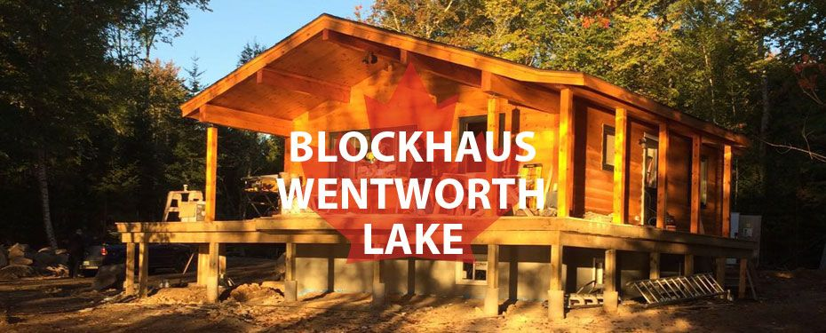 wentworth lake blockhaus immobilien in kanada. Black Bedroom Furniture Sets. Home Design Ideas