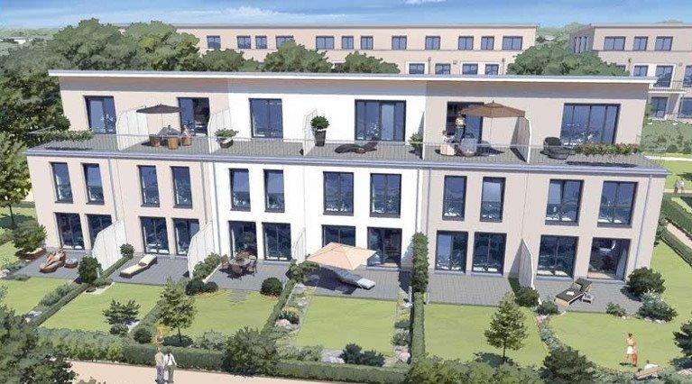 Neue Reihenhuser und Wohnungen fr Gerresheim  BCKER
