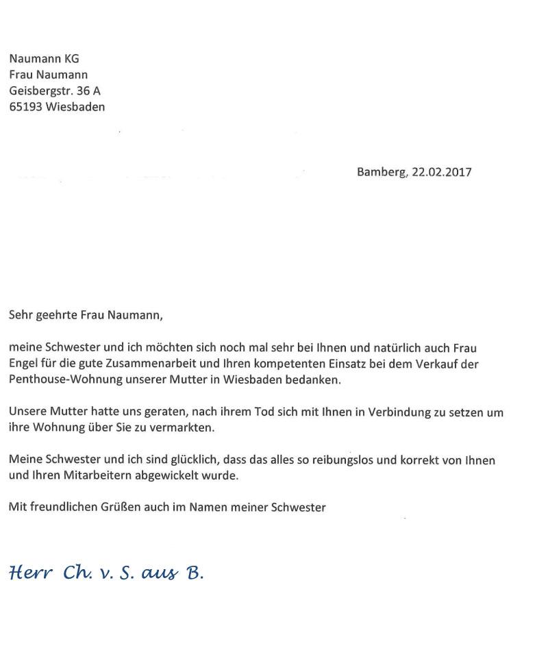 NAUMANN Immobilien in Wiesbaden fr Wohnung Haus und KapitalanlageVermittlung