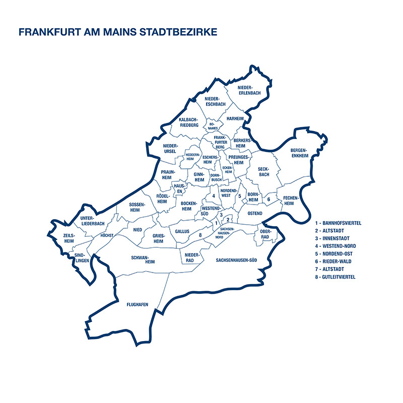 Wohnungen  Wohnungssuche in Frankfurt am Main