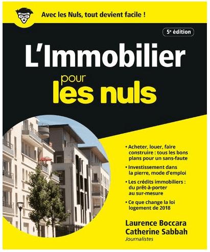 """""""L'Immobilier pour les Nuls"""" de Catherine Sabbah et Laurence Boccara"""