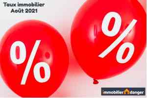 taux credit immobilier aout 2021