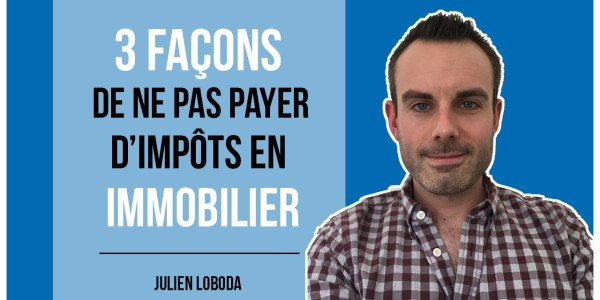 investir immobilier non imposable