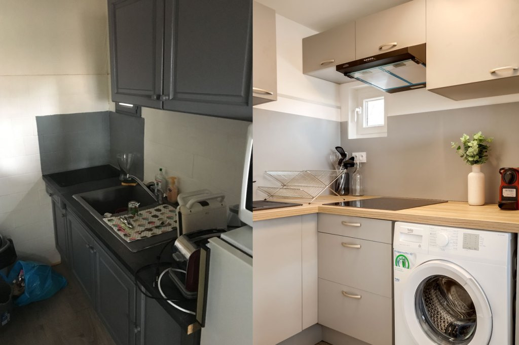 exemple de rénovation d'appartement