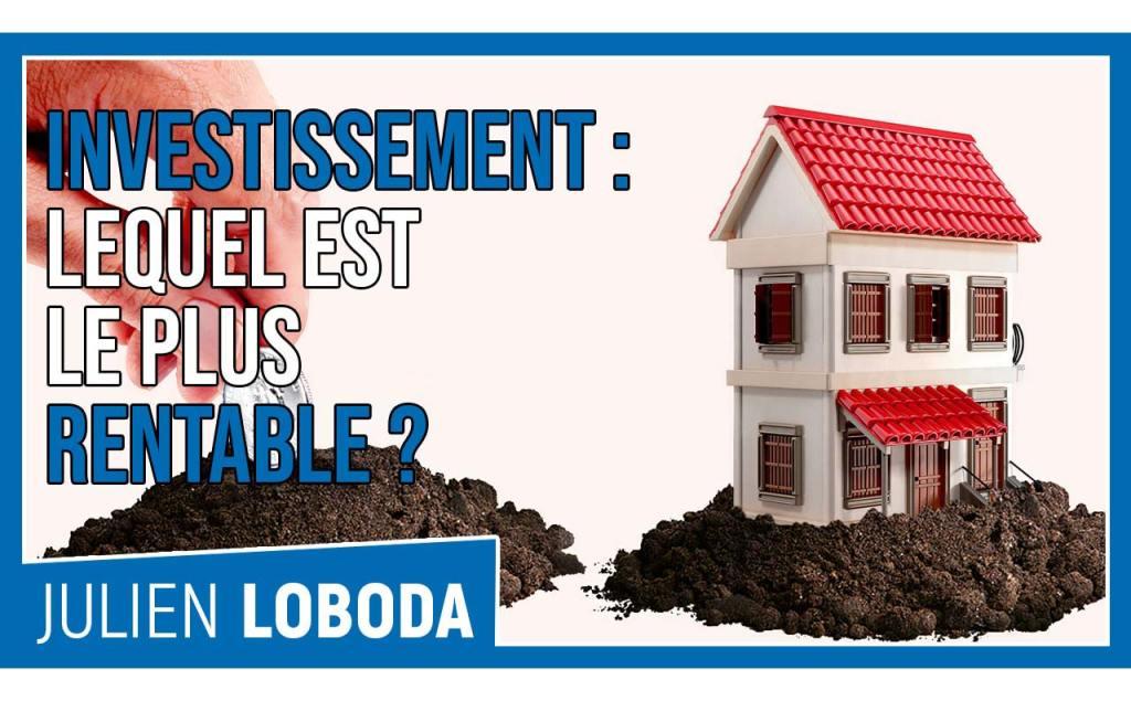 Découvrez quel investissement immobilier est le plus rentable