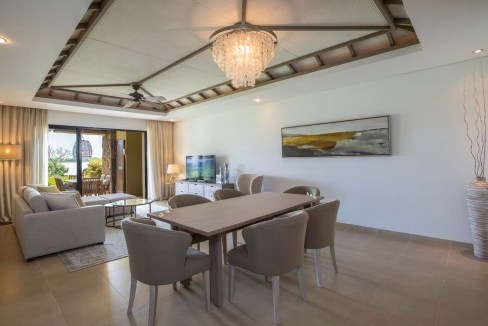 Appartement de 211m2 dans un style contemporain face au Golf et l'Océan16
