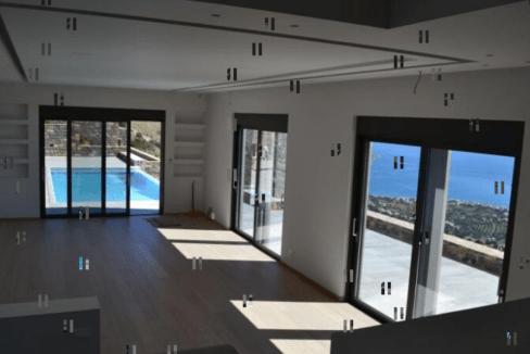 Villa situé sur une colline face à l'île historique de Spinalonga-10