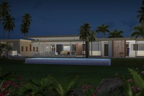 Villa Horizon by SC - Night view