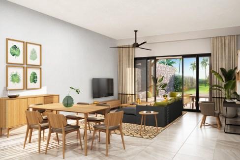 Ennéa Apartment - Living GF