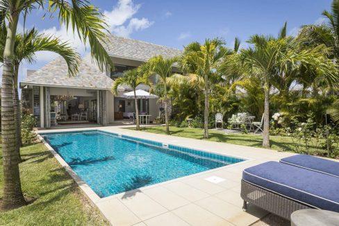 île Maurice villas somptueuses avec jardins tropicaux
