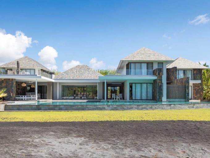 A VENDRE! Villa d'architecture contemporaine île Maurice Beau Champ, Savanne