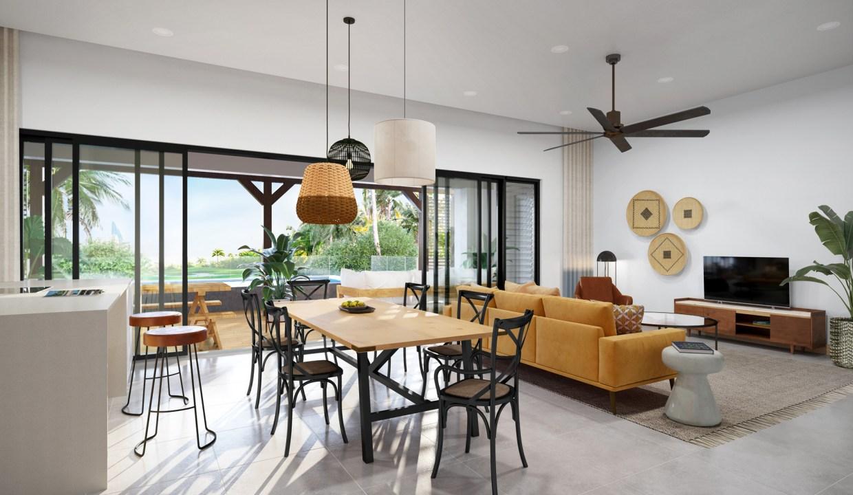 Amara Penthouse - Living