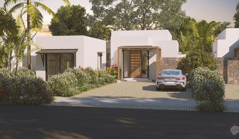 Amara Villa - Front-View