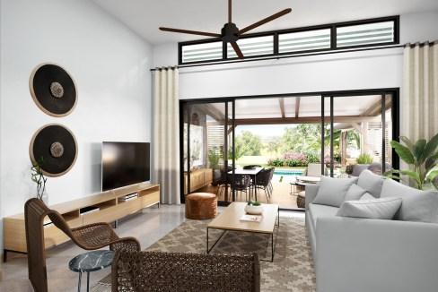 Amara Villa - Living