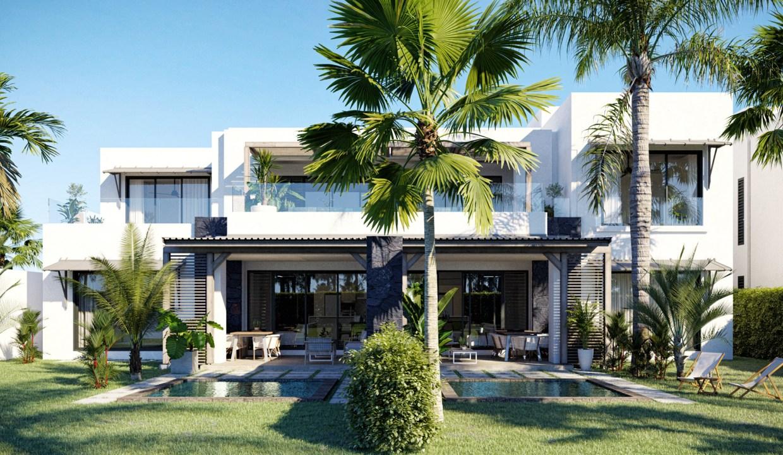 Azuri Ocean & Golf Village : Villas De Luxe À Vendre À L'Ile Maurice
