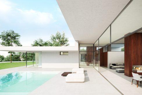 Villa moderna Villa avec piscine1