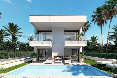 Villa à vendre dans la région de Marbella Puerto Banus dans un emplacement privilégié