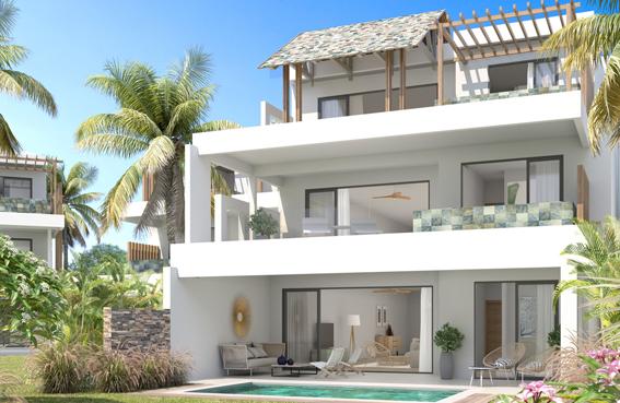 Appartement à vendre en front de mer - Logement Neuf de 161m2 à 235m2
