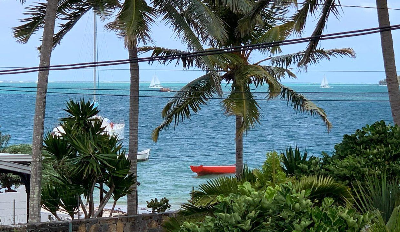 Propriété pieds dans l'eau à vendre à l'île maurice Trou D'Eau Douce