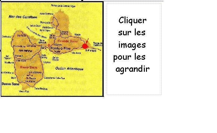 guadeloupe saint francois location