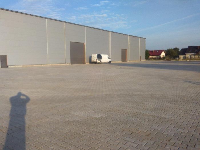 Front Hof Lagerhalle Polen zu verkaufen - Lagerhalle in Polen
