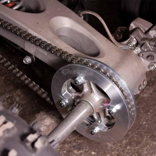 Honda Fuel Filter Installed Houser Racing Dual Sprocket Guard Yamaha Yfz 450