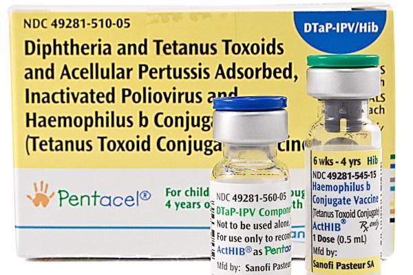 Picture of Pentacel Vaccine