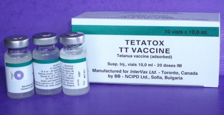 Vaccine Against Tetanus, DTaP, Tdap, Td, DT