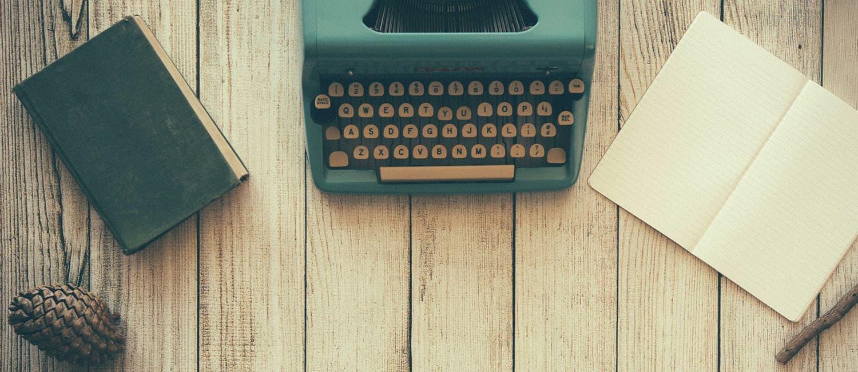 typewriter note
