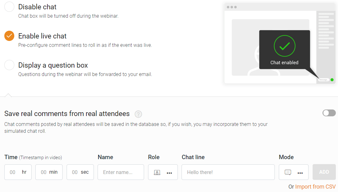 everwebinar live chat box