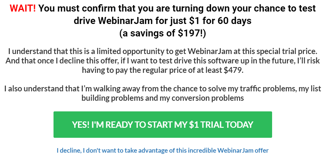 webinarjam savings