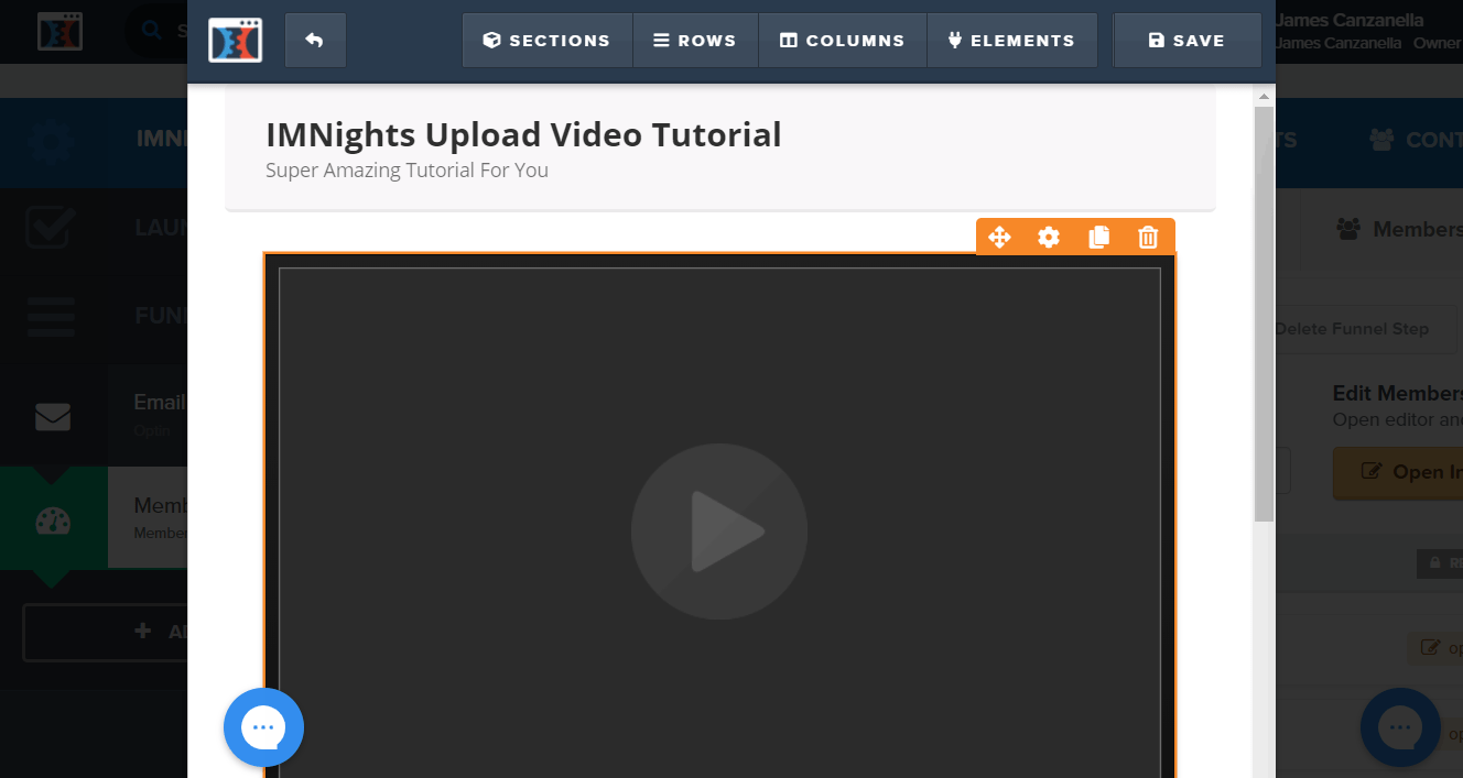 how to upload video to membership area in clickfunnels
