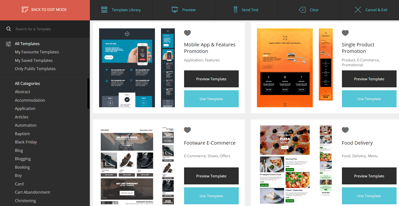 moosend design templates