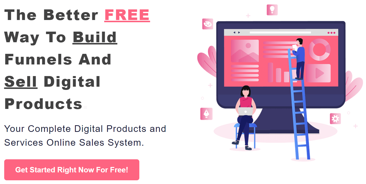 funnel builder and page builder