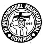 26th International Mathematical Olympiad, Joutsa, Finland