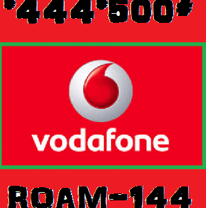 Vodafone free roaming plans Activation for 1 day and monthly