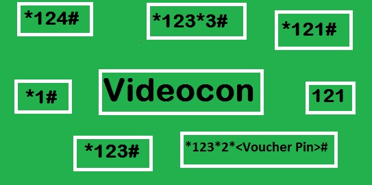 Videocon Mobile All USSD codes to check balance, offer, plan, alert