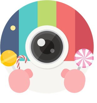 Candy Camera Application for Android