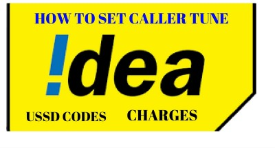 Idea caller tune - ussd and charges
