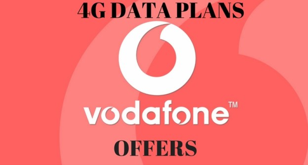 Vodafone 4G – Data Offers, network states 4G Vodafone