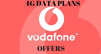 Vodafone 4G - Data Offers, network states 4G Vodafone