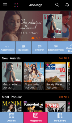 Download JioMags - Premium Magazines - Jio App