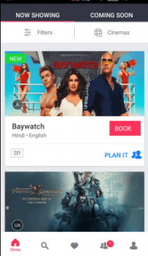 Avail Offers BookMyShow