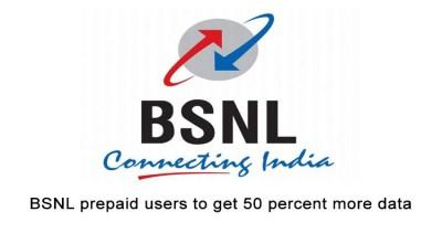BSNL new Prepaid offer