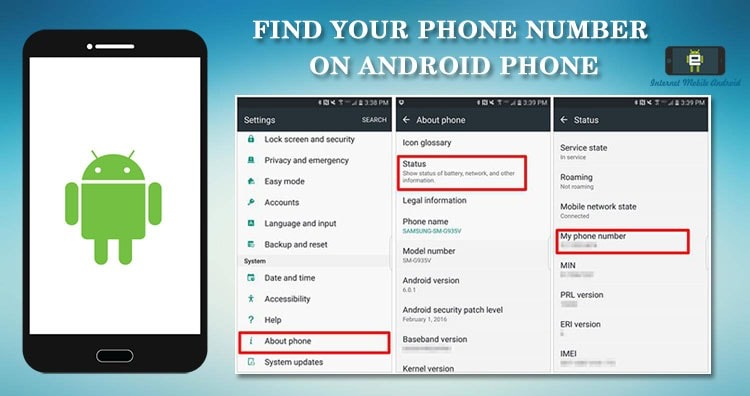 Find your Phone number on Android – MI, Moto Samsung, HTC, Honor, Oneplus