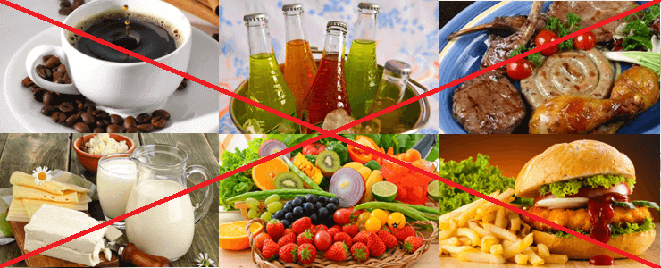 दस्त के लिए पोषण: क्या नहीं हो सकता?